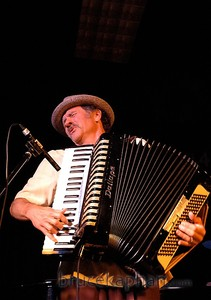 Rich playing accordion